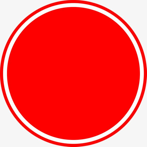 Red Circle PNG