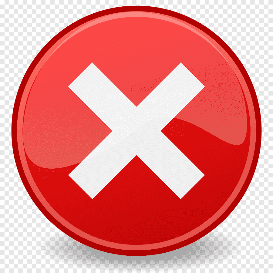 Red X PNG