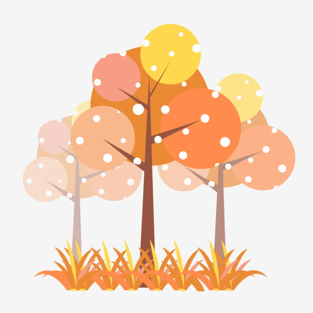 Style Simple Cartoon Autumn Free Images Png