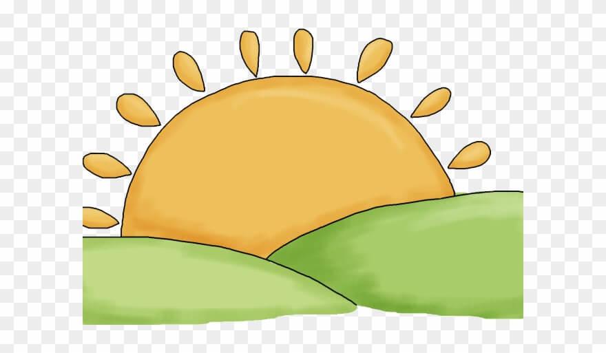 Sunrise Orange And Green png