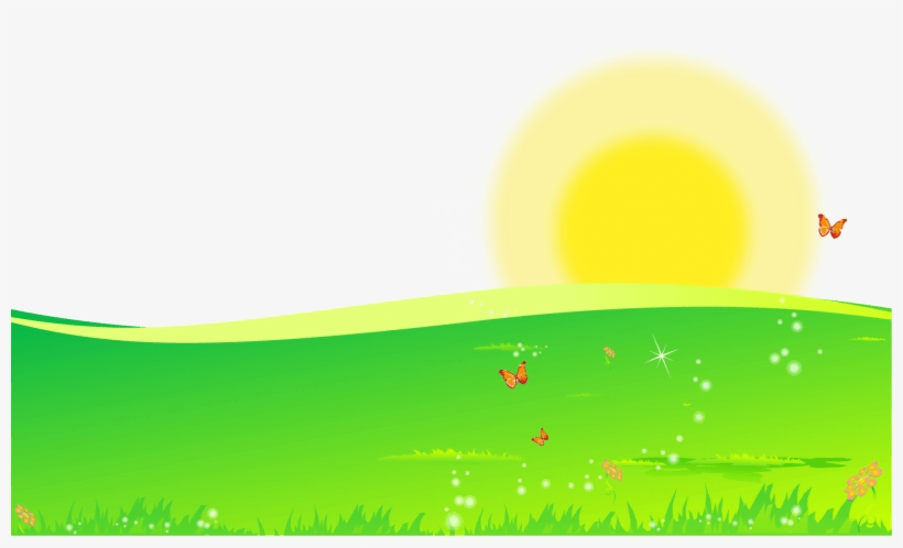 Sunrise Yellow And Green png