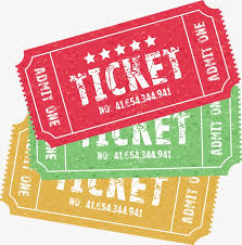 Ticket PNG
