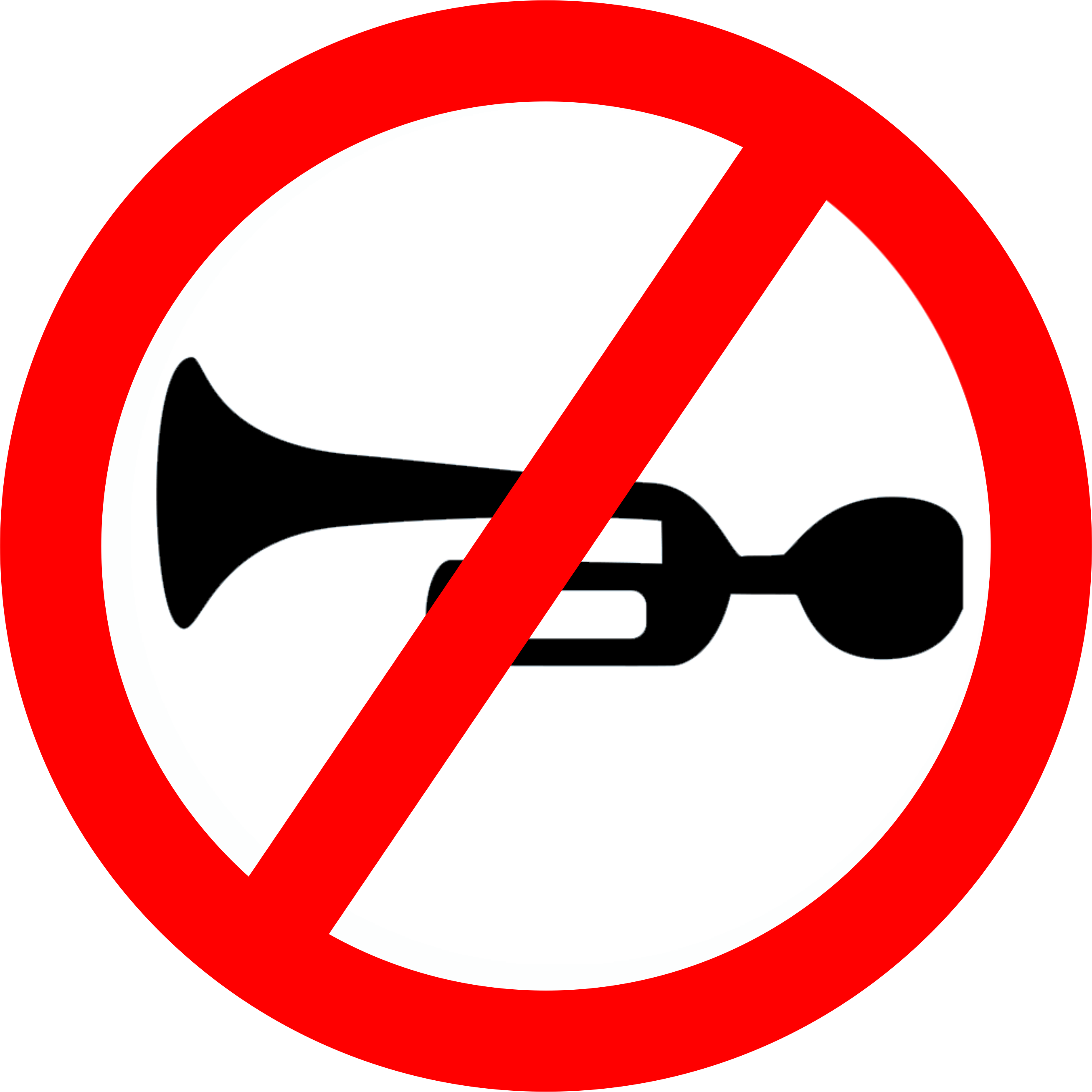 Trumpet Blowing The Forbidden Sign Png