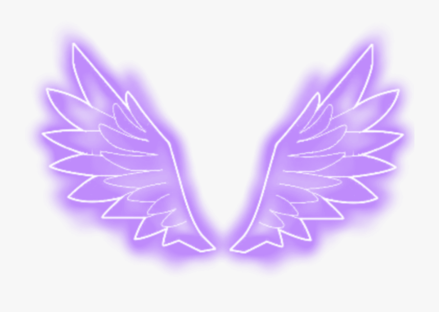 Violet Neon Wing png