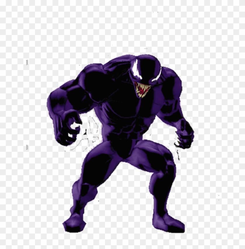 Violet Venom Cartoon png