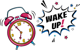 Wake Up PNG