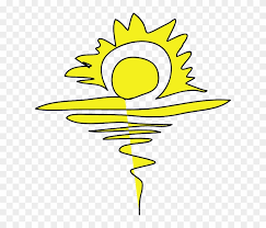 Yellow Sunrise Free Idea png
