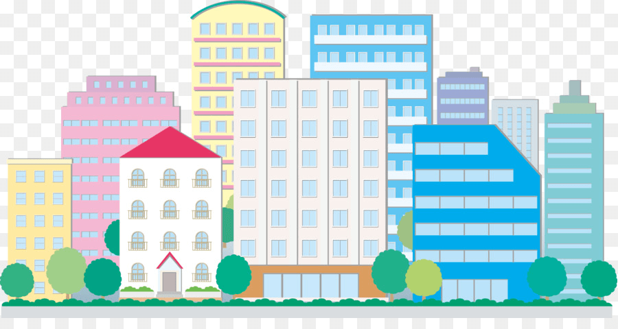 City Buildings PNG